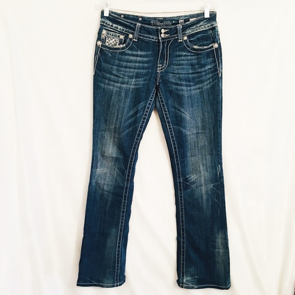 8f6fce03fcd Miss Me Jeans | Distressed Denim Boot Size 30 | Poshmark